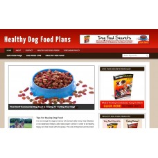 Dog Food Niche Blog