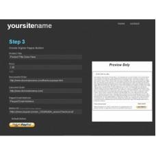 Ebook Sales Page Generator Script