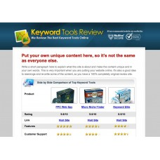 ClickBank Keyword Review Website